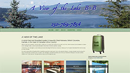 A View of the Lake is a luxurious B & B located only minutes to Kelowna's downtown waterfront area.