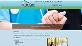 All In One Home Care in Kelowna helps seniors stay in their own homes as long as they can!