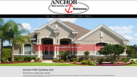 Anchor Wall Systems are your Kelowna stucco professionals providing a wide variety of great exterior cladding options.
