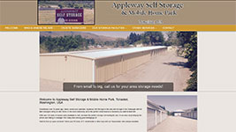 Appleway South Storage and Mobile Home Park in Tonasket, Washington.