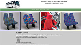 Bus Seat Covers is a division of Willingham Canada