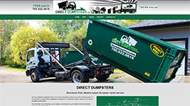 Direct Dumpsters, Sherwood Park (Edmonton Area)