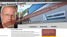 Former West Kelowna mayor now a Councillor as of October 2018