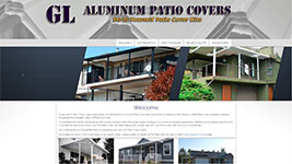 GL Aluminum Patio Covers serving Alberta and British Columbia