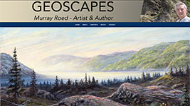 Geoscapes art from Murray Roed.