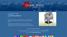 Great West Dishwashers, commercial dishwasher sales across Western Canada