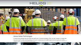 Helios Global Technologies is a designer of WIRELESS EMERGENCY STOPs (E-STOP) for industrial and other uses.