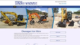 Okanagan Ironxworx specializes in heavy equipment rentals and repair in Kelowna and throughout British Columbia