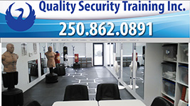Frank McConnell offers security training and other services through Quality Security Training Inc.