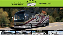 Keystone RV Services services and repairs all makes and models of RV's in and around Kelowna, BC