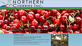 Northern Cherries Inc headquartered in Kelowna BC produces high quality cherries for consumers around the world