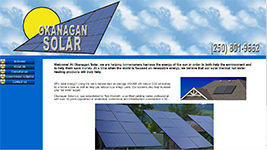 solar products installation and repair in Kelowna and the Okanagan Valley