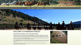 Okanagan Stables is now in a new location as of July 2014