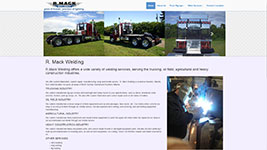 R.Mack Welding, offering welding services to the trucking, agricultural, oil field and heavy equipment industries throughout Alberta