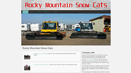 Rocky Mountain Snow Cats, Western Canada's source for good used snow cats