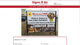 Signs R Us is your Fort McMurray go-to for all your portable signage needs.