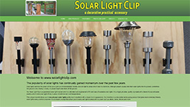 SolarKlip is an invention to easily hold solar lights on buildings, fences, and anywhere you want above the ground!