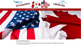 US Tax Specialist is headquartered in Windsor, Ontario, offering cross-border tax services to US and Canadian citizens.