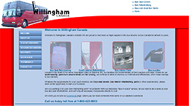 Willingham Canada has been a major supplier to the bus industry across Canada for over 25 years.