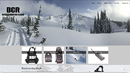 Back Country Rack, online store for ski and snowboard racks for snowmobiles