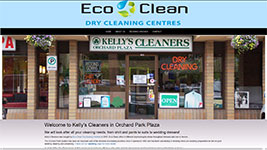 Kelly's Cleaners, Kelowna drycleaning service