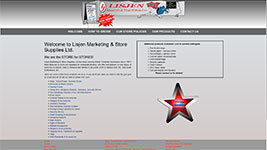 Lisjen Marketing and Store Supplies Kelowna, serving many communities within British Columbia.
