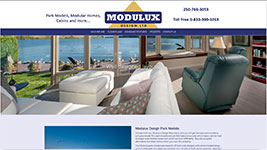 Modulux is a Kelowna based manufacturer of Park Models and Cabins