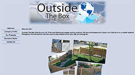 Outside the Box Distributors sells a wide variety of unique products