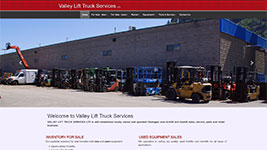 forklift and manlift sales, service, and rental business located in Kelowna