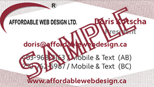 Affordable Web Design Ltd can help you keep your Social Media pages up-to-date.